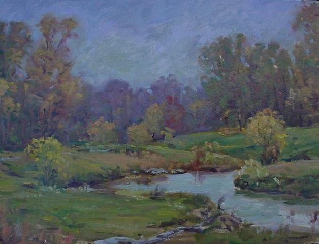 Ken Chapin plein air landscape painting