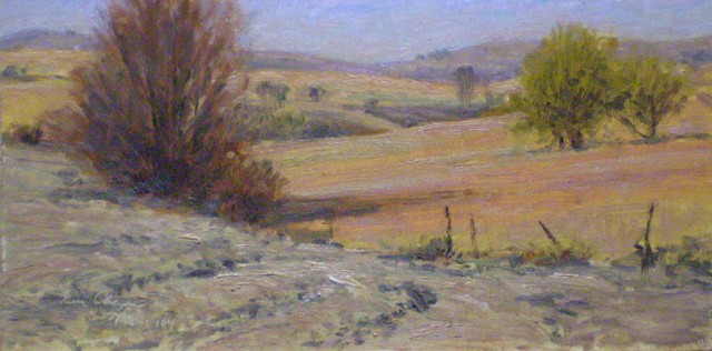 Wabaunsee County Kansas Plein Air Painting