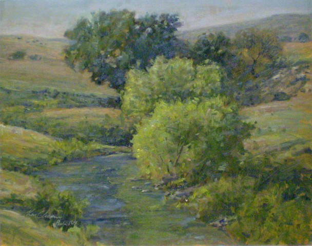 chase county kansas plein air painting oil