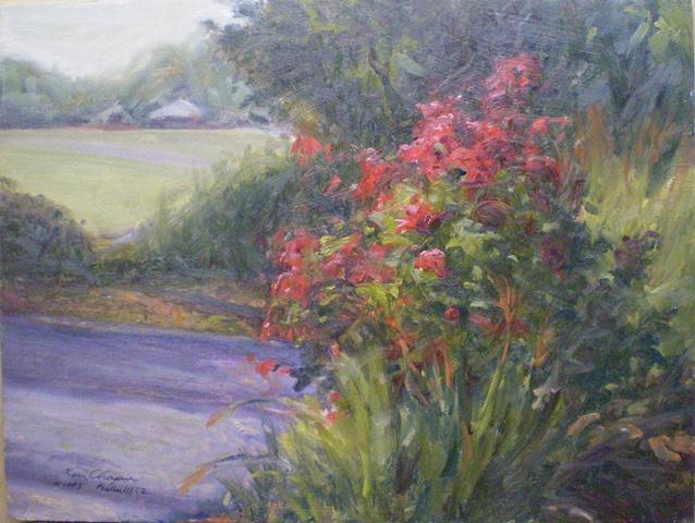 Impressionist Floral Plein Air