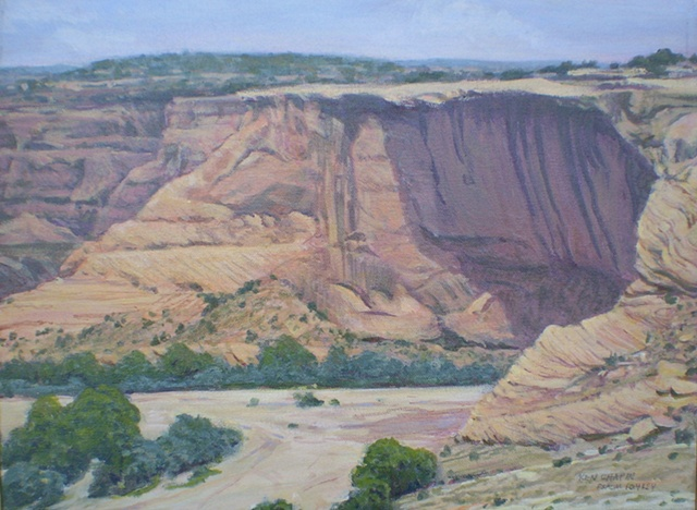 Impressionist Landscape Painting Canyon de Chelly