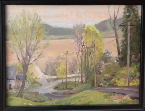 defiance missouri landscape painting plein air impressionist