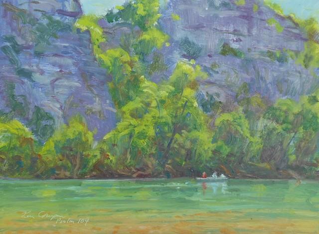 plein air impressionist painting arkansas