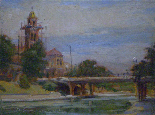 Country Club Plaza, Plein Air Painting, Impressionism
