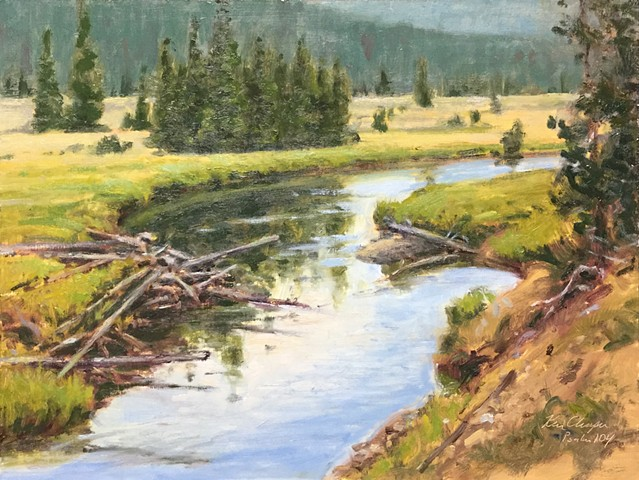 Rocky Mountain National Park, Plein Air Painting, Oil Painting, Landscape Painting