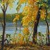 Fall; Missouri River Trail