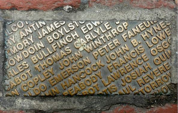 Names- Famous Bostonian