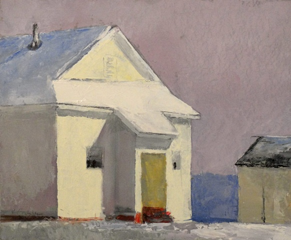 School House Series After a Snow