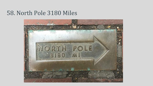 Distance- to North Pole