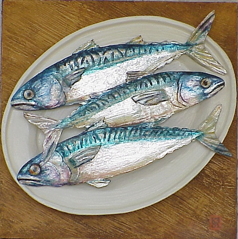 Plate of Mackerel