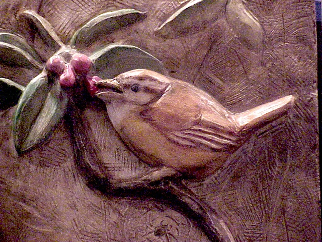 Wren - Detail Plaque #3