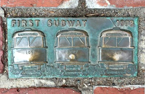 FIRST SUBWAY