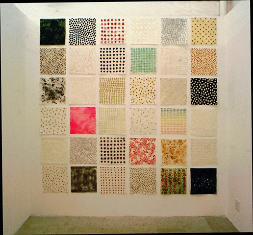installation in 1997, Ten in One Gallery, Chicago