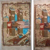 """Twin Towers- Tribute Rug Carpet-9/11 2001- USA History"" edition 1, 2 and 3"