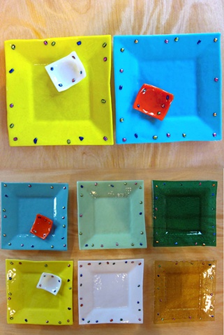 "8"" Flared Squares"