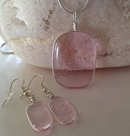 Pale pink Jellybean set