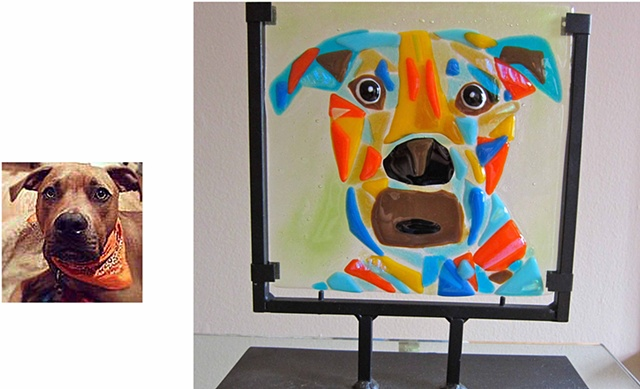 "Winston! Details: 9"" Wide x 11.5"" Tall $275.00"