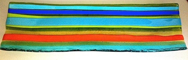 """Green Flash"" Details: The ""Green Flash"" measures about 23.75 inches long by 8.5 inches wide and is 1/4 inches thick! $800.00"