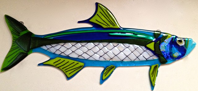 "Tarpon...  details: about 23"" long x 10"" tall"