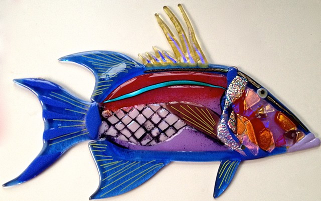 "Hog Fish Snapper...  details: about 21"" long x 15"" tall"