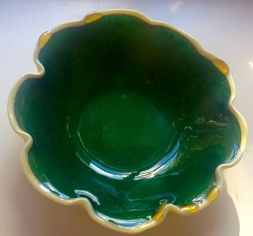 Tide Pool in Cream bowl