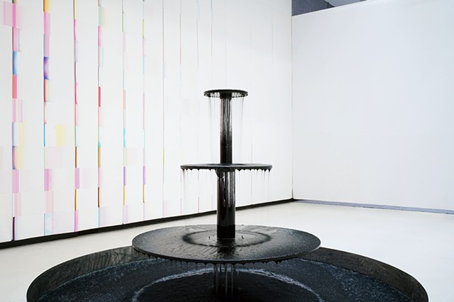 Fountain, the ripples on the surface of duration