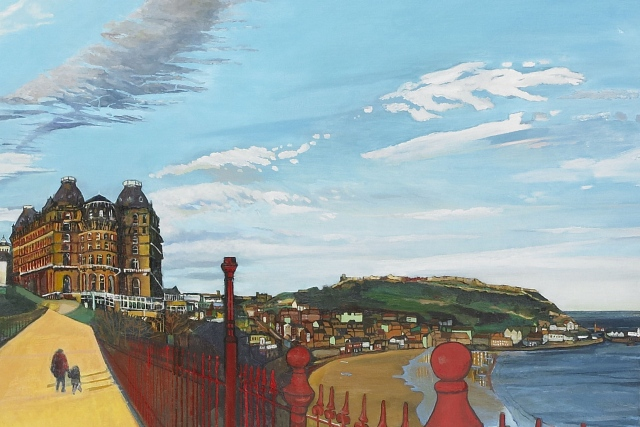Julie Goulding  oil paintings scarborough