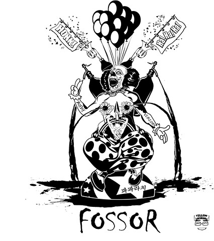 Fossor. Coulrophobia. Baphomet. Clowns.