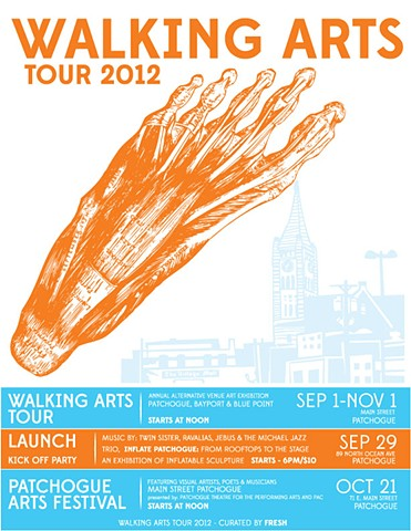Walking Arts Tour 2012.