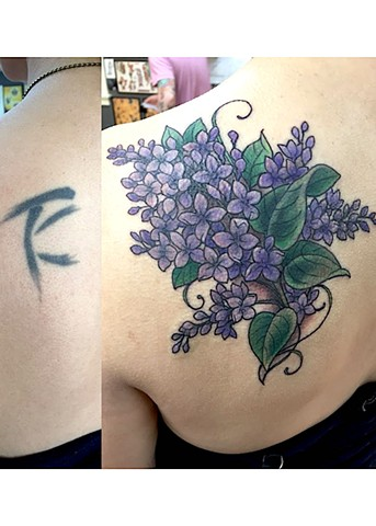 Lilac Cover-up