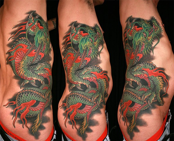 Dragon rib piece