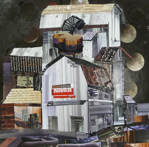 LUNAR ECLIPSE Big H Seed grain elevator