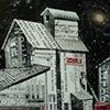 Donald Grain Elevator at Night