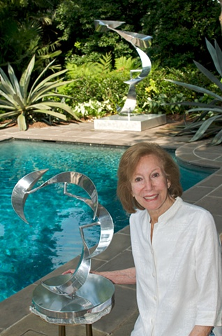 Lin Emery, renowned New Orleans sculptor.