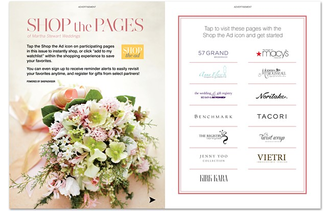 Shop the Pages Promotional Spread