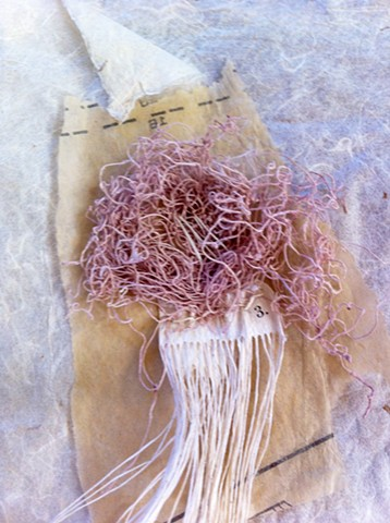 Handmade Mulberry Paper with Handmade String