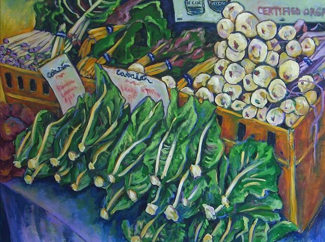 Farmers Market Lettuce & Leaks