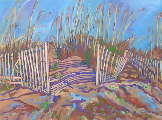 Dunes at Isle of Palms, SC-Purple Shadows