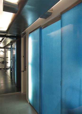 E. 40th St. Dental Office, modern dental office,  panelite polycarbonate panels, by Doug Stiles Interior Design