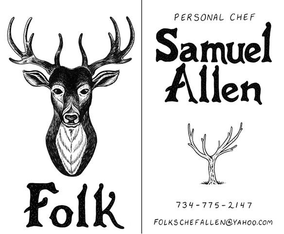 Folk - Business Card
