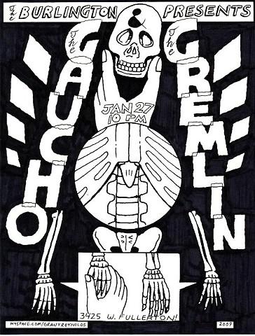 The Gaucho & The Gremlin - Flyer