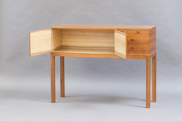 acacia sideboard
