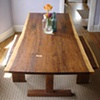 natural edge dining table