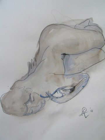 UNTITLED (LYING NUDE)