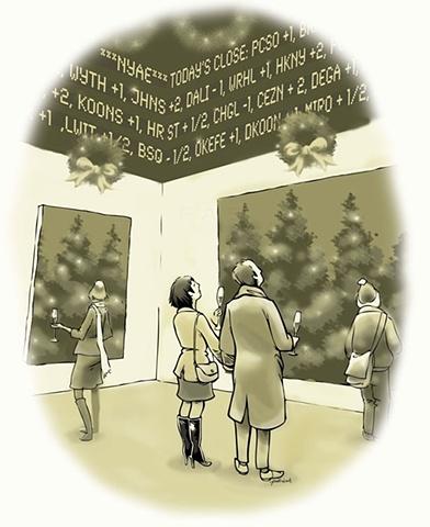 Holiday Cartoon, Bilton Arts, Inc