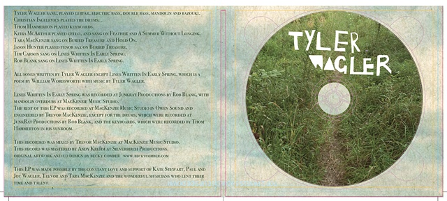 Tyler Wagler - Album Art Inside Layout