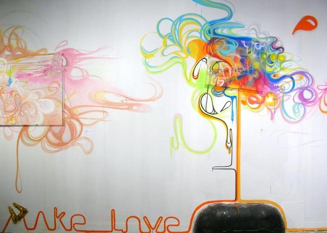 Make Love (final mural)
