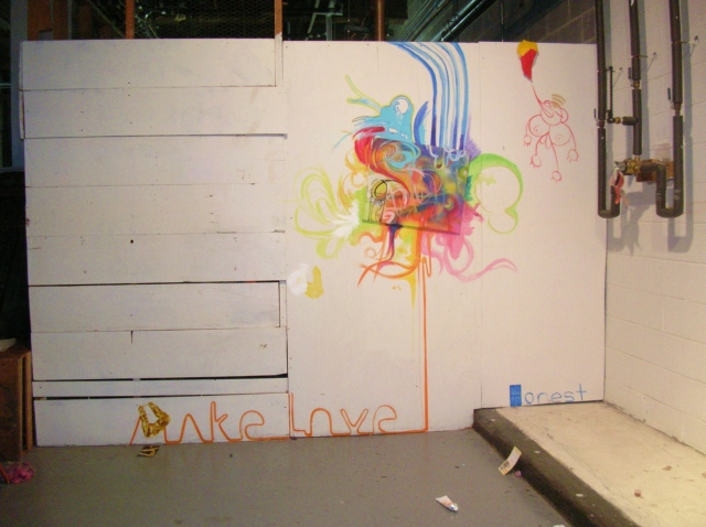 Make Love (first mural)
