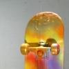One Day  (reverse side of skateboard)
