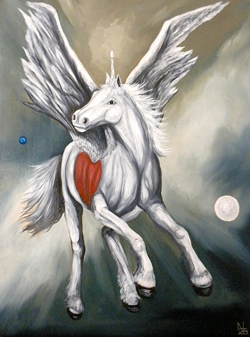 POWER ANIMAL ART, MYTH, SURREALISM, NATURE, SPIRITUALITY